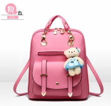 Free Shipping Students Shool Backpacks Leather Medium Bookbags,Backpacks... - $40.00