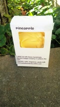 pineapple soap, soap, glycerin soap, handmade soap, fruity soap, tropica... - $5.50