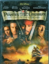 Pirates of The Caribbean, The Curse Of the Black Pearl  (DVD Movie) - $10.00
