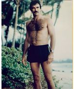 Tom SELLECK Bare CHEST Short SWIMSUIT Org PHOTO... - $9.99