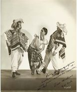 Mexican Dance Trio Mixteco AUTOGRAPHED Org PHOTO E54 - $19.99