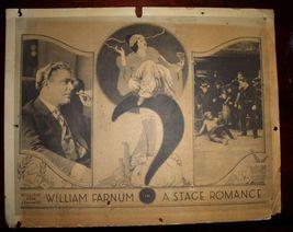DECO Era William Farmun A Stage Romance vintage c.1922 LC - $24.99