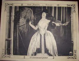 DECO Era DAME Elsie FERGUSON Outcast ORG Lobby CARD - $19.99