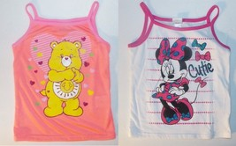 Disney Care Bears Toddler Girls Sleeveless Shirts Tops Sizes 4T and 5T NWT - $8.83