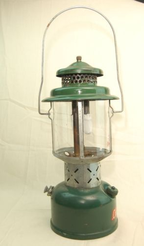 Vintage 1962 Coleman 220e 195 Lantern 2 Mantle 3 62 W Funnel Instructions