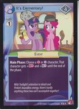 It's Elementary! 2014 Hasbro My Little Pony Card #5F - $0.99