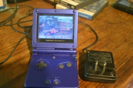 Nintendo Game Boy Advance GBA SP NES blue  AGS 001  - $24.99