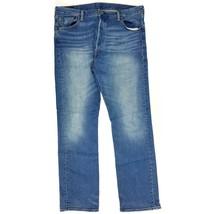 LEVI'S DAMEN JEANS SLIGHT CURVE Slim Leg Hose Denim Blau W27