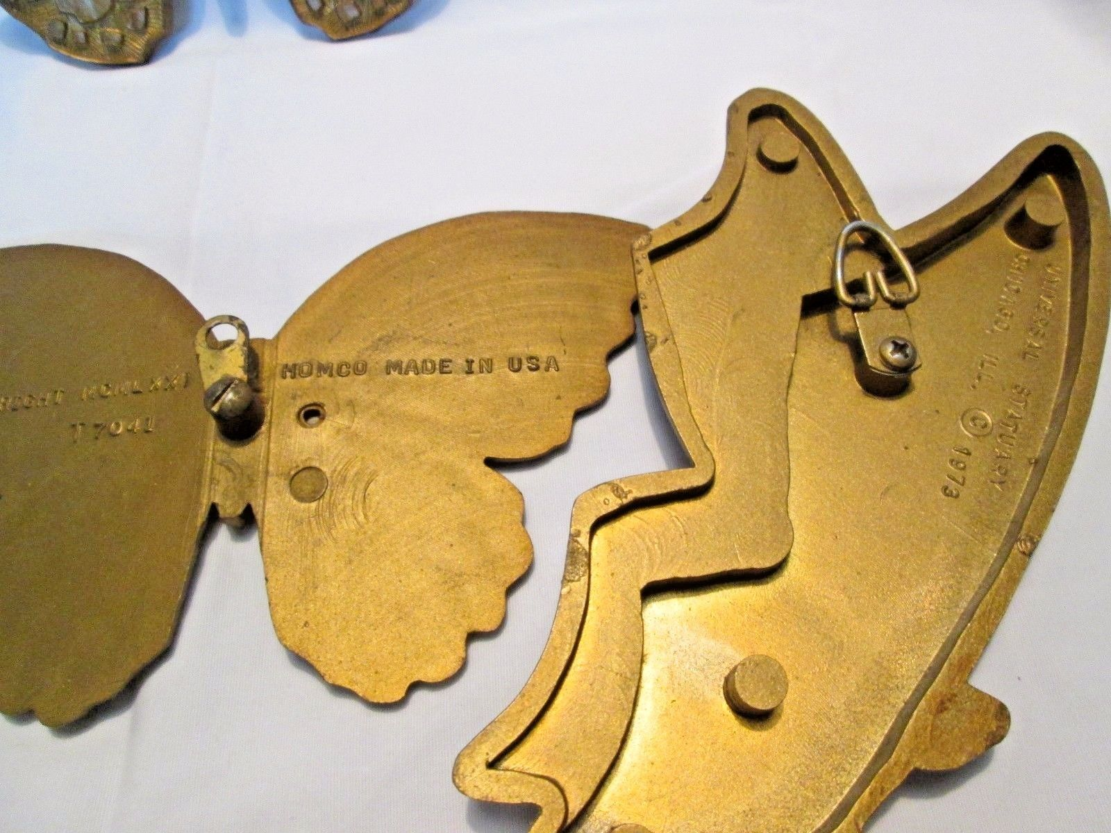 Gold Butterfly Set of 4 wall plaques and 11 similar items