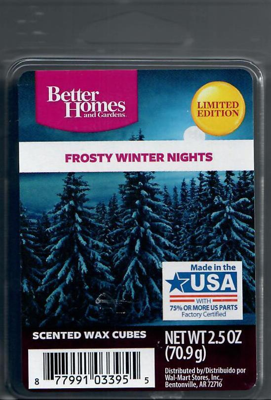 Better Homes And Gardens Warm Pumpkin Cookies Wax Cubes