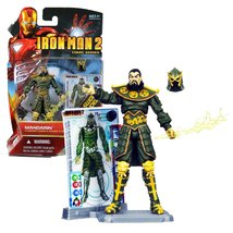 Hasbro Year 2010 Iron Man 2 Comic Series 4 Inch Tall Action Figure Set #... - $39.99