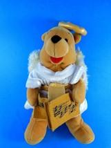 "Winnie the Pooh Christmas Choir Angel 8"" Bean Bag Plush Disney 2000 Exc - $4.15"