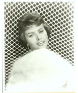 Sophia Loren~FUR~BEAUTY GLAMOUR Publicity R PHOTO - $9.99