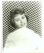 Sophia Loren~FUR~BEAUTY GLAMOUR Publicity R PHOTO - $9.99