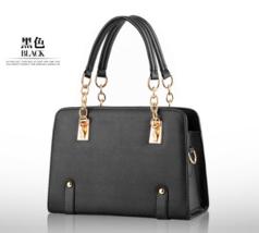 Chain Women Leather Shoulder Bags Medium Handbags 13 Color B14-1 - $38.00