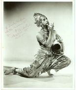 UNKNOWN India DANCER Autographed LA Org PHOTO E689 - $9.99