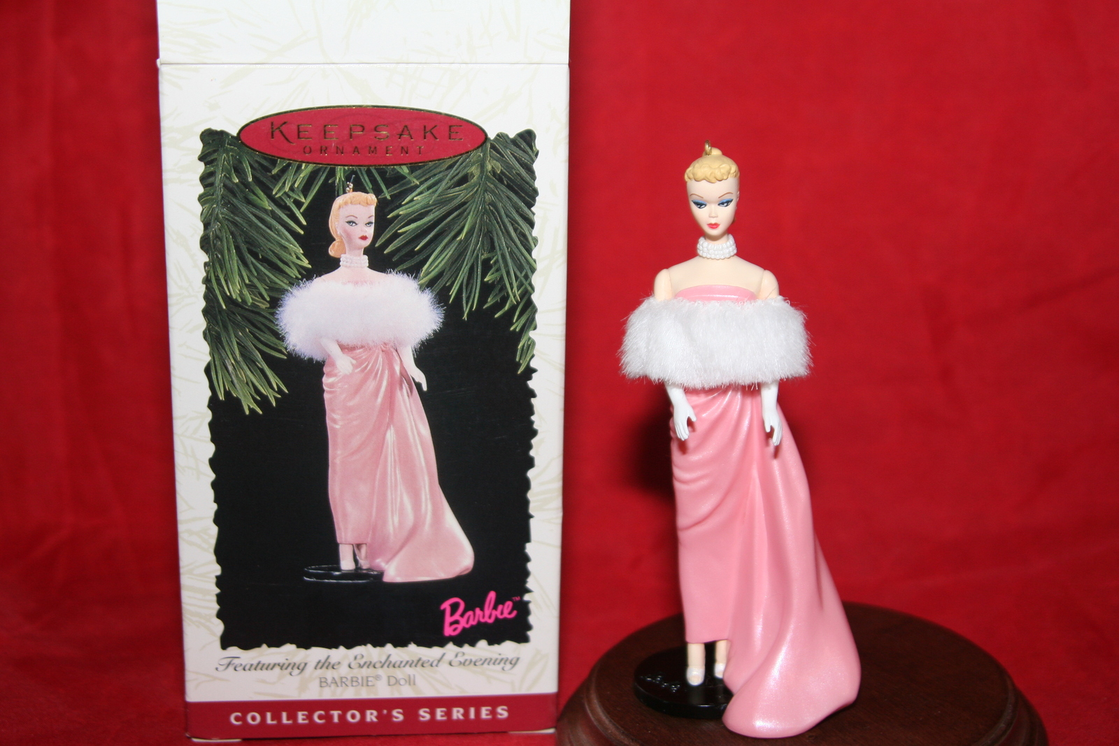 Hallmark Keepsake  Ornament Enchanted Barbie