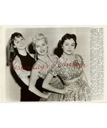 Elsa MARTINELLI Dan CRAYNE Sue WAGONER ORG PHOTO H113 - $19.99