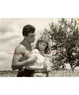 Etchika CHOUREAU Bare CHEST Marcel PERES ORG PHOTO H352 - $19.99