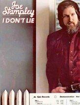 Joe Stampley ~ I Don't Lie (Original 1979 Epic Records 36016 LP Vinyl Al... - $3.00