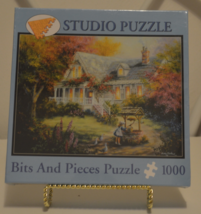 Bits and Pieces The Wishing Well 1000 Piece Puzzle New in Box - $12.95