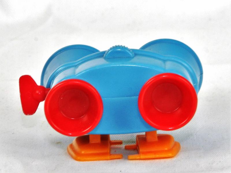 "LENNY Toy Story 3/"" Figure Binoculars Wind Up Burger King Pixar Movie Vintage"