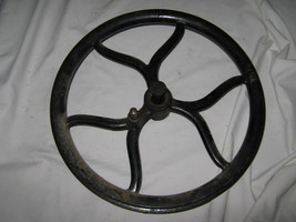 New Home Treadle Base Part Band Wheel - $10.00