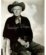Charles BICKFORD BRANDED Western ORG SCHAFER PHOTO - $19.99