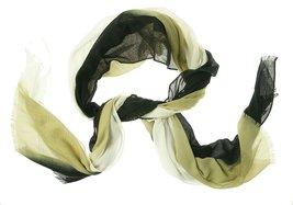 Echo Women's Polyester Regular Scarf Black Light Beige - €19,76 EUR