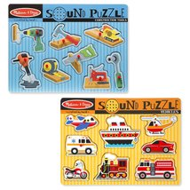 Melissa & Doug Sound Puzzle - Construction Tools and Vehicles - $25.69