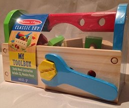 Melissa & Doug Classic Toy My Toolbox 24 Pieces - $19.55