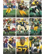 (9) 1995 Upper Deck (Green Bay Packers Complete Team Set) See Scans! - $1.35
