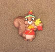 Vintage Hallmark Autumn Fall squirrel pin whims... - $3.00