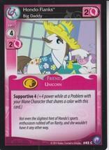 Hondo Flanks 2014 Hasbro My Little Pony Card #45C - $0.99