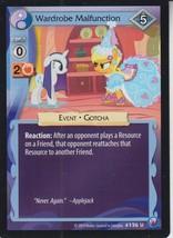Wardrobe Malfunction 2014 Hasbro My Little Pony Card #126U - $0.99