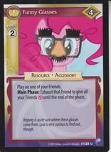 Funny Glasses 2014 Hasbro My Little Pony Card #138U - $0.99