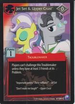 Jet Set & Upper Crust 2014 Hasbro My Little Pony Card #159C - $0.99