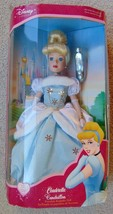 "Holiday Cinderella Porcelain Keepsake 16"" Doll 2003 - Disney 2003 Brass ... - $18.79"