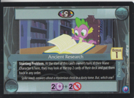Anchient Research 2014 Hasbro My Little Pony Card #167U - $0.99
