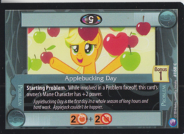 Applebucking Day 2014 Hasbro My Little Pony Card #168C - $0.99