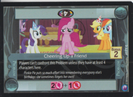 Cheering Up A Friend 2014 Hasbro My Little Pony Card #171C - $0.99