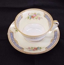 Noritake Troyon cup and saucer set HTF  BEAUTIF... - $27.95