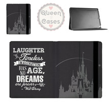 Black Laughter is Timeless Walt Disney Quote Tablet Flip Case - $26.99+