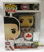 CAREY PRICE, Montreal Canadiens, POP NHL Figure... - $11.11
