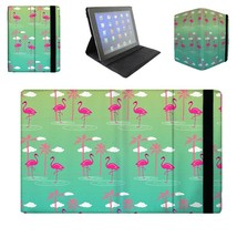 Flamingos In Sunglasses Tablet Flip Case - $26.99 - $30.99