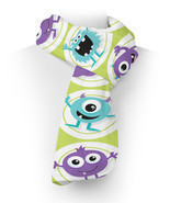 Funny Monsters Fleece Scarf - $43.51 CAD+