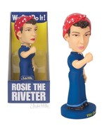 Rosie the Riveter Nodder Bobblehead Figure! - $12.19