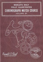 Valjoux Cal. 77 Chronograph - How to Repair - Book-CD - $4.99