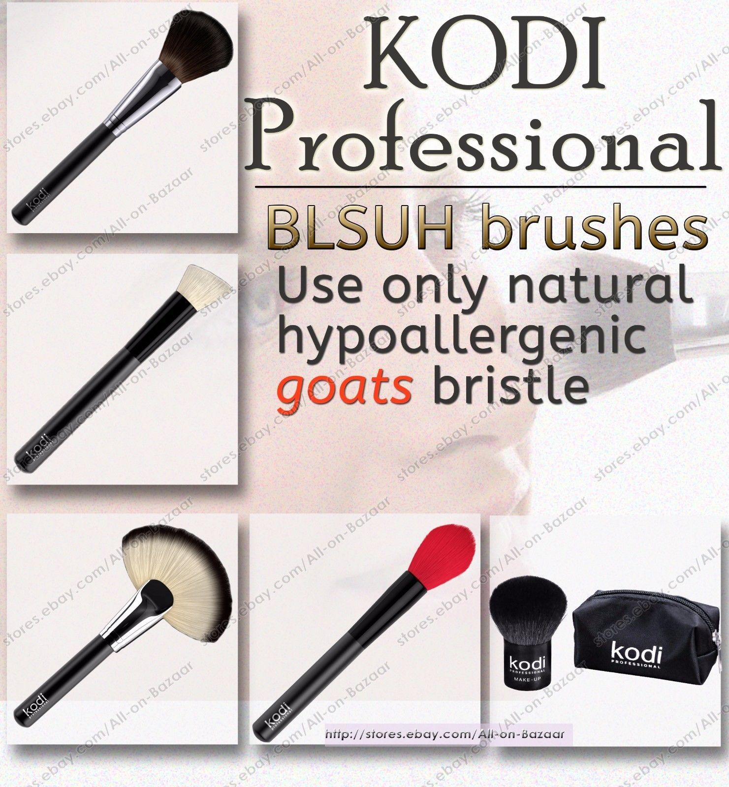 Primary image for KODI PROFESSIONAL Make-up BRUSHES FOR Blush brushes