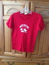 women's red shirt size medium rosarito beach rodeo Baja California by chang - $24.99